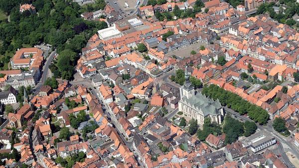 Wolfenbüttel Luftbild