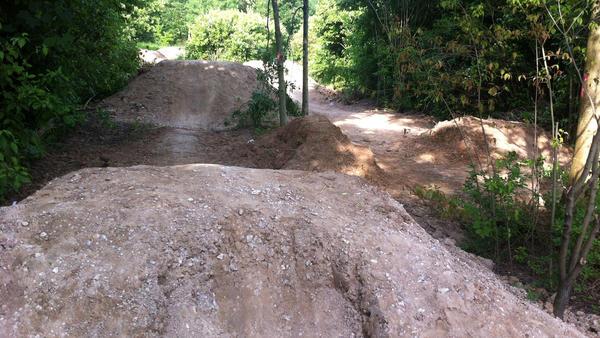 SJP BMX-Naturstrecke Halchter