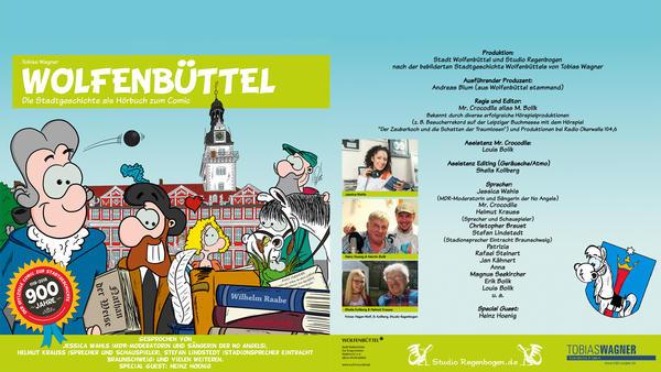 Wolfenbüttel-Comic Hörbuch Cover