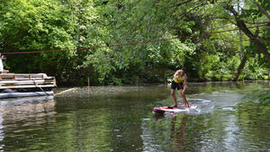 Stand-Up-Paddling (SUP) in Wolfenbüttel